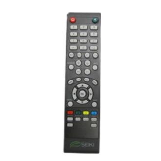Seiki SE32HY10 Remote Control