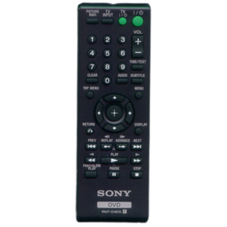 Sony Remote RMT-D187A