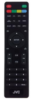 JVC LT-43MA770 Remote Control RM-C3320