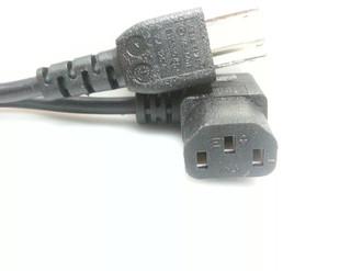 Vizio 3-Prong Right Angle Power Cord