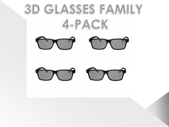 Vizio Theater 3D Glasses - 4 Pack