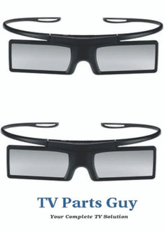 Samsung 3D GLASSES PAIR SSG-4100GB BN96-22902A-2 PCS