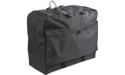The Backpack comfortably fits the 4-piece bodyCushion with additional space for covers or small accessories.