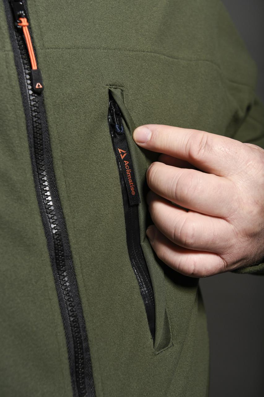 Detail of front pocket