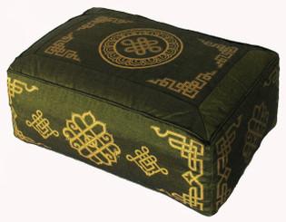 Boon Decor Rectangular Meditation Pillow Eternal Knot Dharma Key SEE COLORS
