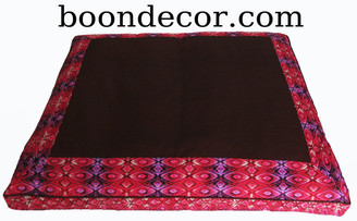 Boon Decor Zabuton Meditation Floor Cushion - Limited Edition Silk Road Spice Route