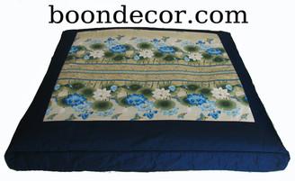 Boon Decor Zabuton Meditation Floor Cushion - Limited Edition Lotus Sanctuary Collection