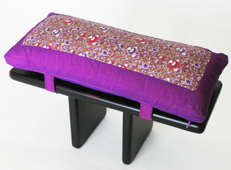 Boon Decor Meditation Bench and Cushion Set Pi Style Zen Seiza Indochine SEE COLOR CHOICES