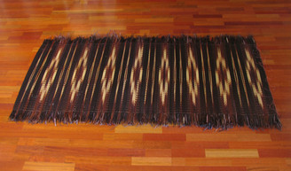 Boon Decor Tatami Floor Mat - Shag Fringe and Tie-Dyed SEE SIZES