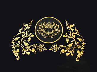T-Shirts with Sacred Symbols - Unisex: Tee Shirts - Lotus in Circle - Enlightenment - 100% Cotton