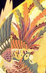 Handbags- Vintage Japanese Silk Kimono Print Fabrics: Vintage Silk Japanese Kimono Handbag FH014F