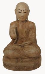 Boon Decor Burmese Folk Art Buddha