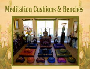 Boon Decor Meditation Room with Sacred Symbols Cushions