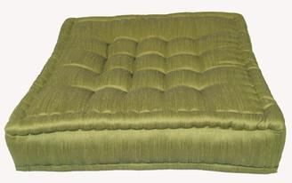 Boon Decor Tufted Floor Cushions Olive Green Floor Pillow