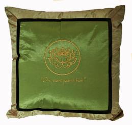Boon Decor Throw Pillow - Om Lotus Design