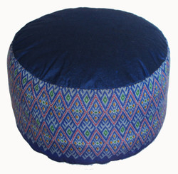 Boon Decor Meditation Cushion High Seat Buckwheat Kapok Fill Zafu 9 SEE COLORS
