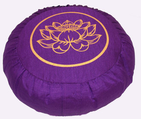 Boon Decor Zafu Meditation Cushion Buckwheat Pillow Lotus Enlightenment SEE COLORS