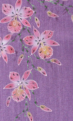 Boon Decor Table Runners Orchid Collection Purple