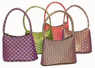 Boon Decor Handbag - Brocade Thai Silk Gold Brocade SEE COLORS