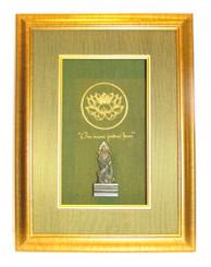Boon Decor Shadow Box Art - Quan Yin Statue