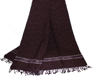 Boon Decor Meditation Shawl - Hand-Loomed Ikat Pattern - Pure Organic Cotton 1