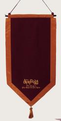 Boon Decor Altar Cloth Shown with Hanger