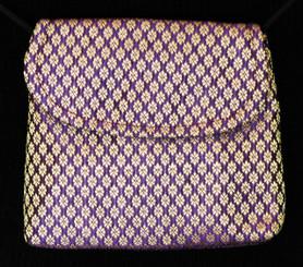 Boon Decor Mini Shoulder Bag - Cell Phone/Cosmetic Purse Brocade Silk ID/Cosmetic Purse