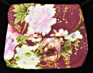 Boon Decor Mini Shoulder Bag - Cell Phone/Cosmetic/ID Purse Japanese Kimono Silk
