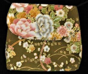 Boon Decor Mini Shoulder Bag - Cosmetic/Cell Phone/ID/ Purse Japanese Kimono Silk