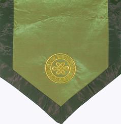 Boon Decor Altar Clother/Wall Hanging - Eternal Knot - Green