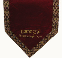 Boon Decor Altar Cloth Or Wall Hanging - Embroidered Sacred Symbols SEE CHOICES