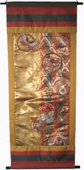 Boon Decor Wall Hanging - Vintage Silk Brocade Japanese Obi