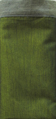 Boon Decor Silk Napkins - Burmese Silk Silk Napkins - Set of 6 Celadon Green w/Sage Green Trim