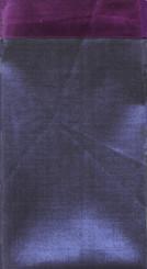 Boon Decor Silk Napkins - Burmese Silk Silk Napkins - Set of 6 - Lavender w Purple Trim