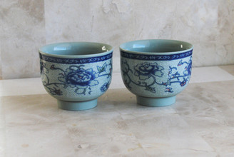 Boon Decor Offering Bowls Set of 2 - Porcelain 2.5 dia 2.25 high SEE SELECTIONS