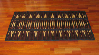 Boon Decor Tatami Mat - Folding Tie-Dyed w/ Carry Handle 40 x 74