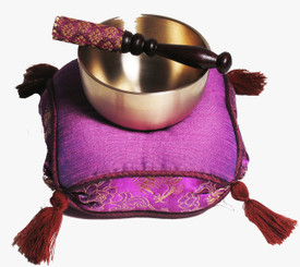 Boon Decor Singing Bowl Set Japanese Spun Brass Rin Gong 3.5 dia SEE COLORS