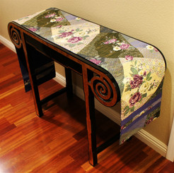 Boon Decor Table Runner or Wall Hanging - Contemporary Japanese Silk Print SEE SELECTIONS