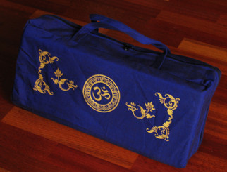 Boon Decor Canvas Tote Bag for Meditation Bench Om SEE COLOR CHOICES