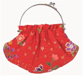 Boon Decor Handbag - Japanese Kimono Silk or Brocade Pattern SEE COLORS