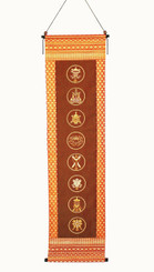 Boon Decor Wall Hanging Mandala - The Eight Auspicious Symbols SEE CHOICES