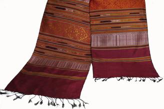 Boon Decor Silk Wall Hangings - Hand Loomed - One-Of-A-Kind Silk Wall Hanging 14 - Hand Loomed One-Of-A-Kind