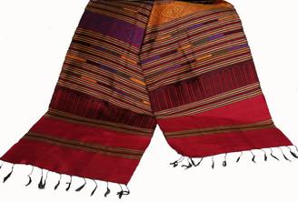 Boon Decor Silk Wall Hangings - Hand Loomed - One-Of-A-Kind Silk Wall Hanging 15 - Hand Loomed One-Of-A-Kind