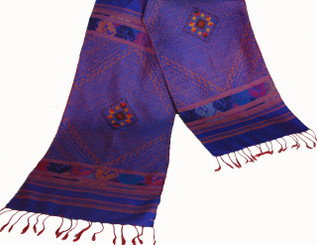 Boon Decor Silk Wall Hangings - Hand Loomed - One-Of-A-Kind Silk Wall Hanging 8 - Hand Loomed One-Of-A-Kind