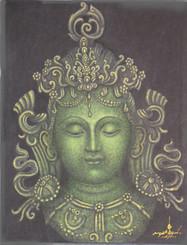 Boon Decor Green Tara - Painting On Canvas