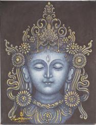 Boon Decor White Tara - Painting On Canvas
