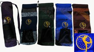 Boon Decor Yoga Mat Bag - Yoga Figure