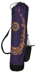 Boon Decor Yoga Mat Bag Om with Golden Lotus SEE COLOR CHOICES