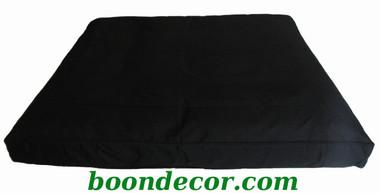 Boon Decor Meditation Cushion - Zabuton Floor Mat - Black