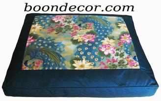 Boon Decor Zabuton Meditation Floor Cushion Limited Edition Empress Garden